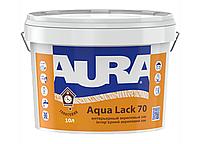 Глянцевый интерьерный акриловый лак Aura Aqua Lack 70 10л