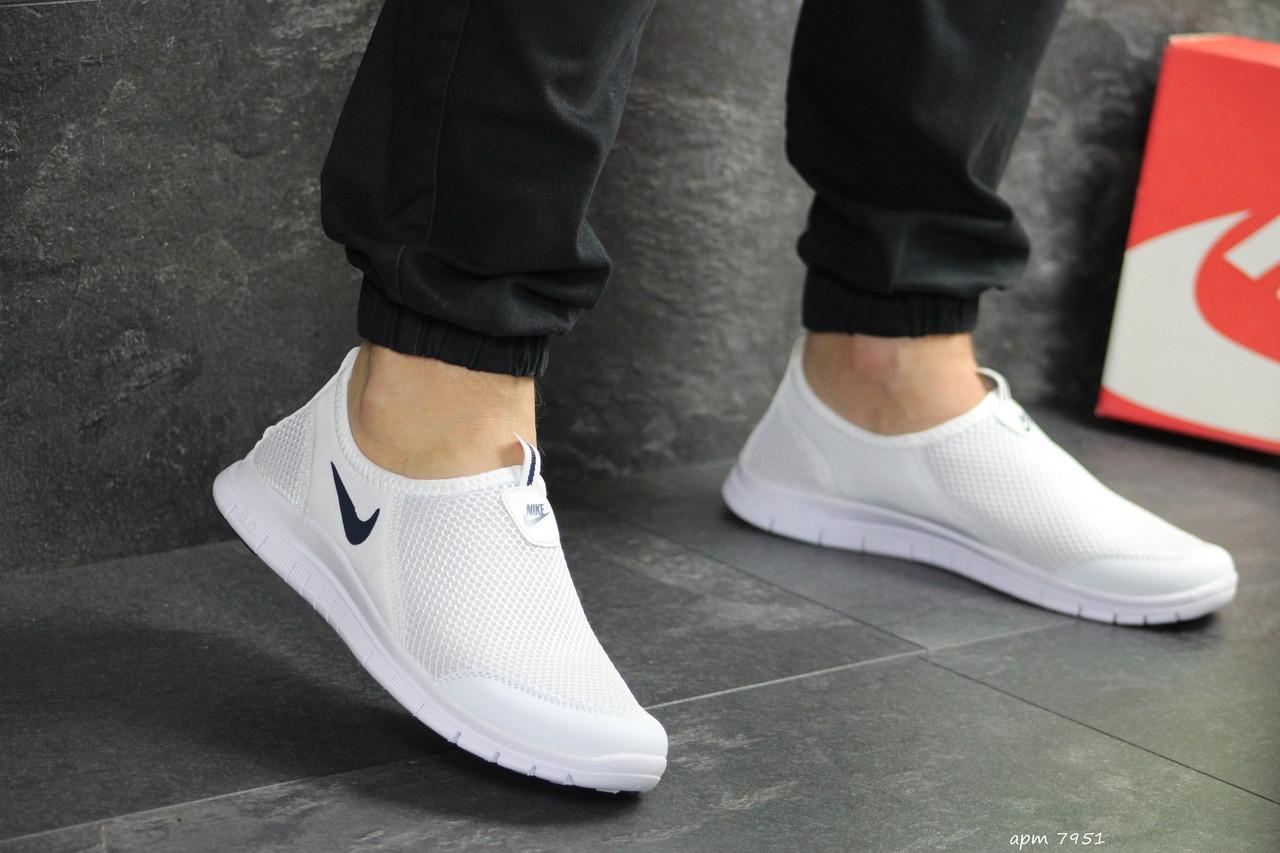 Мужские кроссовки Nike Free Run 3.0 ( белые )