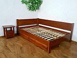 Кутова дерев'яна ліжко Шанталь, фото 3