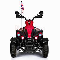Детский Лицензированный квадроцикл ATV DMD-268 (Красный,Белый).