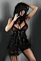 Эротическая сорочка в стиле бэби-долл Jessica ,женское эротическое белье Livia Corsetti