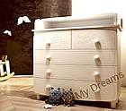 Комод-пеленатор Luxury White, фото 6