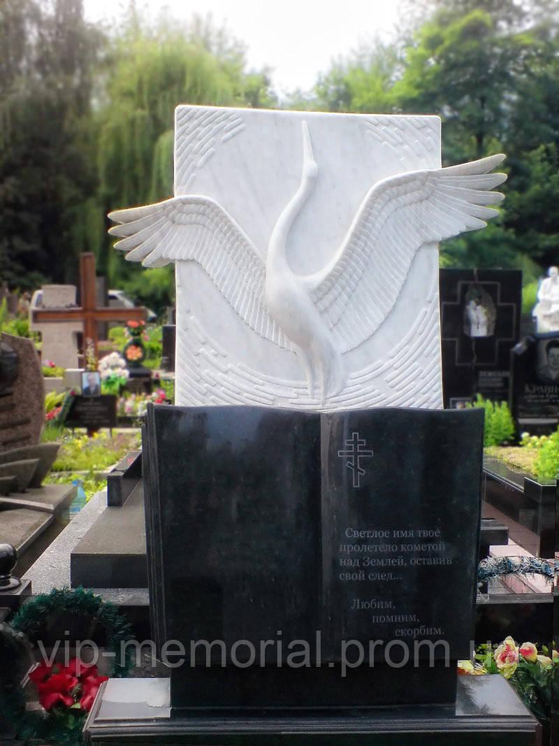 Мраморный памятник М-101