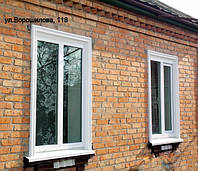 Теплозащитные пластиковые окна для частного сектора или квартир с индивидуальным отоплением в Знаменке