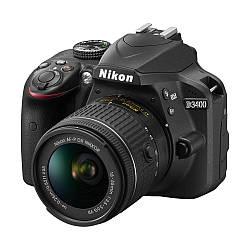 Фотоаппарат Nikon D3400 kit 18-55 VR