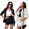 Женский летний костюм двойка с шортами sh-012 (42-52р, разные цвета), фото 5