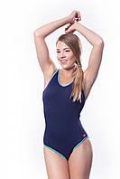 Купальник женский закрытый Shepa 001 слитный,цельный, без чашек (чашечек) спортивный для бассейна