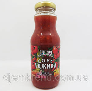 Соус ТМ Дніпро Аджика 315 г.