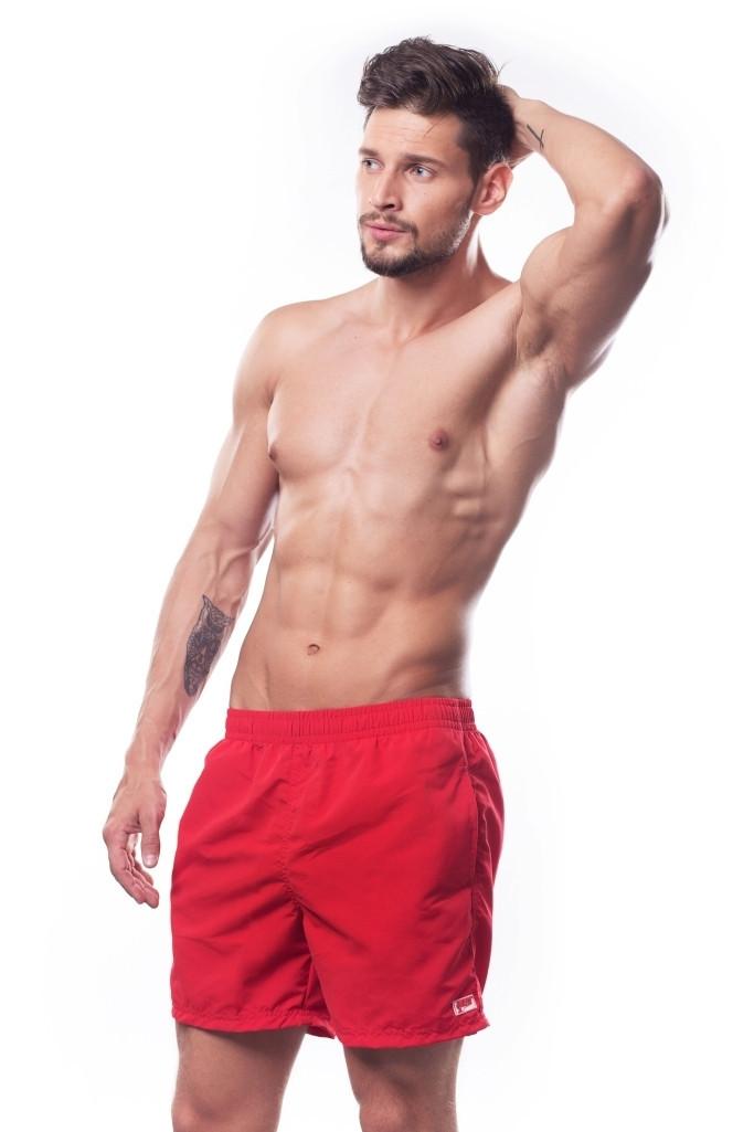 Плавки мужские для купания шорты SHEPA (original) (Польша), Шорты, Красный