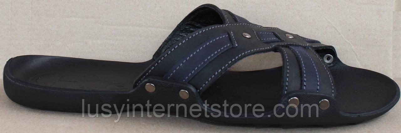 Сабо мужские кожаные от производителя модель СЛ512