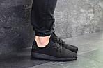 Мужские кроссовки Adidas Pharrell Williams (черные), фото 2
