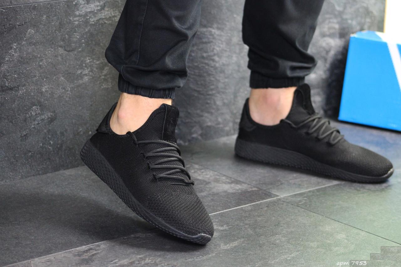 Мужские кроссовки Adidas Pharrell Williams (черные)