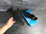 Мужские кроссовки Adidas Pharrell Williams (черные), фото 5