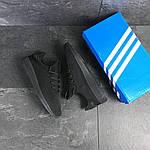 Мужские кроссовки Adidas Pharrell Williams (черные), фото 6