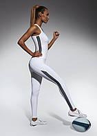 Спортивные женские легинсы BasBlack Imagin white (original), лосины для бега, фитнеса, спортзала, фото 1