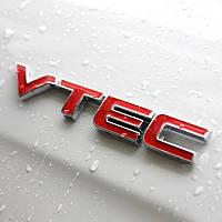 3D эмблема VTEC - метал, фото 1
