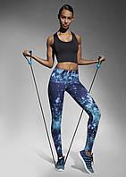 Спортивні жіночі легінси BasBlack Laguna (original), лосини для бігу, фітнесу, спортзалу, фото 1