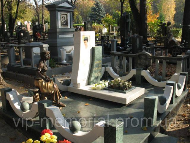 Мраморный памятник М-119