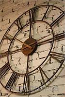 Кованые часы 60см