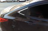 Угол бокового заднего стекла пластик китай Hyundai accent