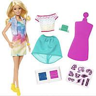 Кукла Барби Дизайнер одежды Barbie Crayola Color Stamp Fashions Set, Blonde