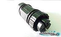 """Водонепроницаемый коннектор WPF-0200 M25 2 контакта """"мама"""". Водостойкий разъём IP-68. Герметичный разъём."""