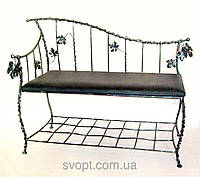 "Кованый диван ""виноград"""