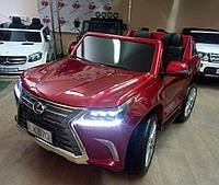 Детский электромобиль Lexus (LX 570)M 3906(МР4)EBLRS-3 бордо лак