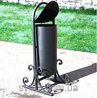 Урна для мусора кованая (19 л)