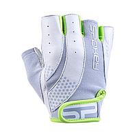 Женские перчатки для фитнеса Spokey ZOE II (original), спортивные атлетические тренировочные, фото 1
