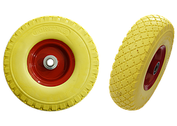 Колесо для тачки полиуретановое 3.00-8 (345/65мм) Fortune