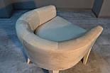 Дизайнерский стул с низкой спинкой белый, фото 6