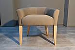 Дизайнерский стул с низкой спинкой ясень, фото 4