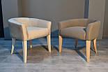 Дизайнерский стул с низкой спинкой ясень, фото 6