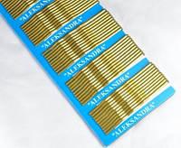 Н1580-1 Невидимки 100шт на планшете золото