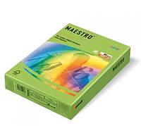 Цветная бумага А4 160 г/м2 LG46 зеленая липа