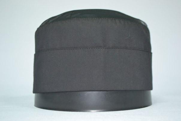 Шапка поварская «ТАБЛ»,черная