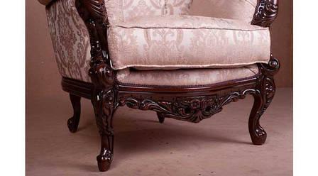 """Классическое кресло в ткани """"Мила"""", фото 2"""