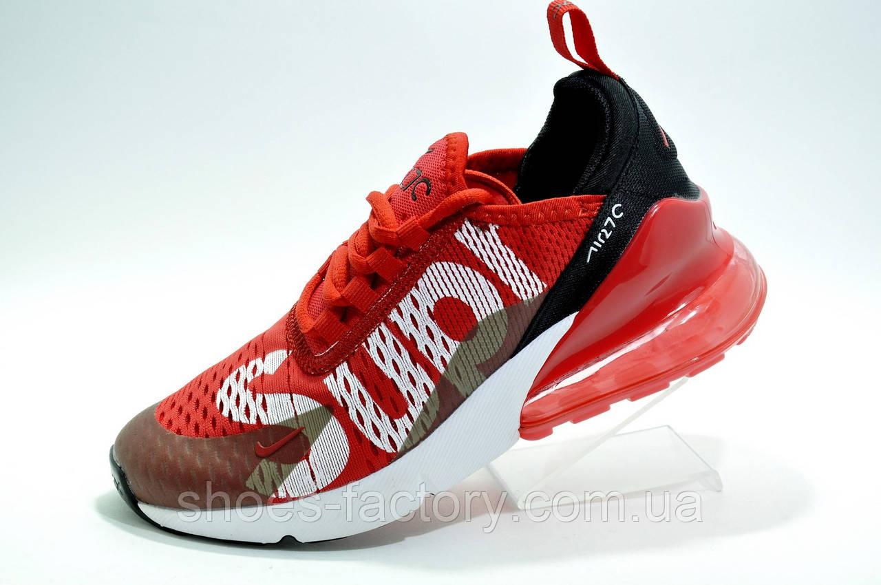 Кроссовки унисекс в стиле Nike Air Max 270 Supreme, Red\Красные