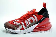 Кроссовки унисекс в стиле Nike Air Max 270 Supreme, Red\Красные, фото 2