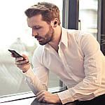 Беспроводные наушники блютуз гарнитура Wi-pods MX Bluetooth 5.0 для телефона, фото 7