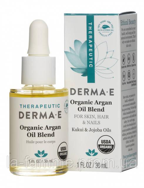 Масло для кожи, волос и ногтей, 30 мл, Derma E (США)