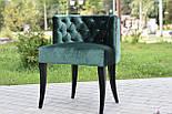 Дизайнерський стілець із каретной стяжкою, фото 2