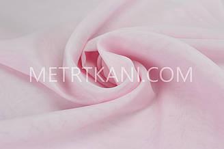 Тюль вуаль розовая  300 см №128721-3