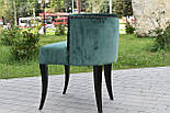 Дизайнерський стілець із каретной стяжкою, фото 5