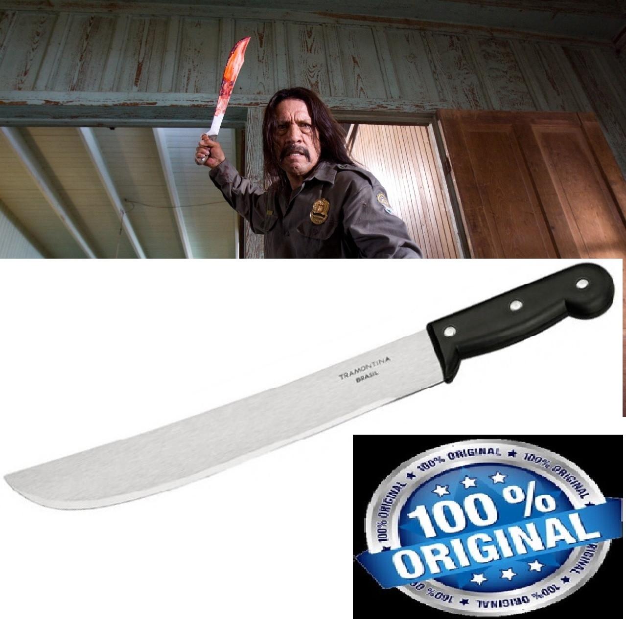 Мачете Tramontina Original. Большой нож топор Бразилия. Нож для выживания.