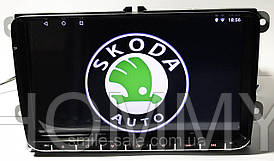 "Штатная магнитола на Skoda Octavia/Fabia/Rapid/Yetty/SuperB  Android 8.1.0  экран 9"" WifI+GPS"