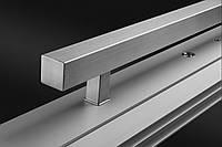 Дверная ручка из нержавеющей стали Wala Q10 40х40, угол крепления 90°.