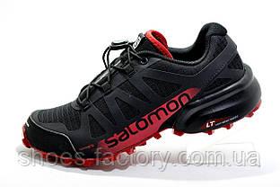 Кроссовки мужские в стиле Salomon Speedcross Pro 2, Black\Red