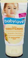 Babylove Leichte Gesichtscreme Детский легкий крем для лица 75 мл